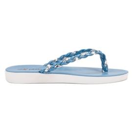 Seastar modrý Modré tkané žabky