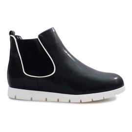 Černá Černé sportovní boty Gabrielle