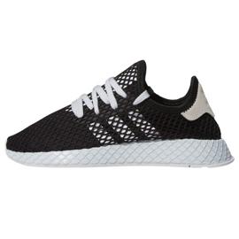 Černá Adidas Originals Deerupt Běžecká obuv W EE5778
