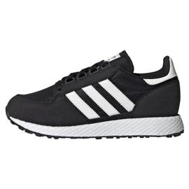 Černá Obuv Adidas Originals Forest Grove Jr EE6557
