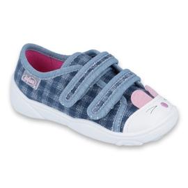 Modrý Dětská obuv Befado 907P107