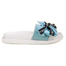 Jumex modrý Flip Flops s láskou luk
