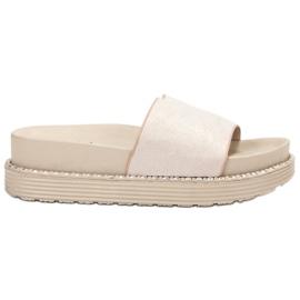 Melisa hnědý Flip Flops