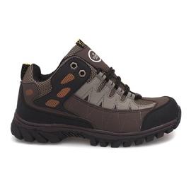 Hnědý Pánské trekové boty M317 Brown