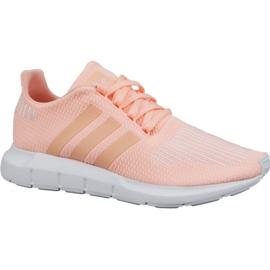 Růžový Boty Adidas Swift Run Jr CG6910