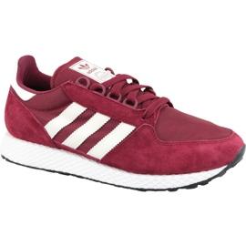 Červená Boty Adidas Forest Grove M CG5674