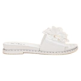 Kayla bílá Bílé gumové pantofle