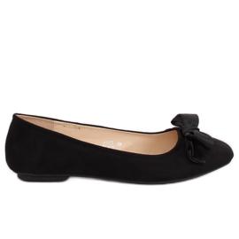 Černá dámská baletka 3173 černá