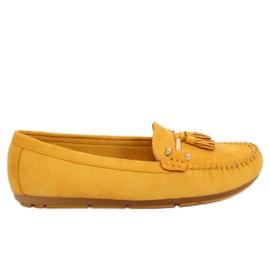 Žlutý Loafers žlutá L7183 žlutá
