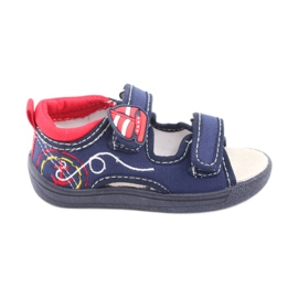American Club Americké sandály dětské boty kožené boty