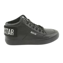 Vysoká černá tenisky Big Star 274351
