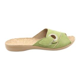 Befado dámské boty pu 265D008 zelená