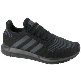 Černá Obuv Adidas Swift Run Jr CM7919