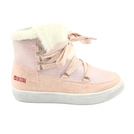 Big Star 374080 růžové práškové boty