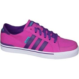 Růžový Obuv Adidas Clementes K Jr F99281