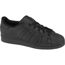 Černá Obuv Adidas Superstar J Foundation Jr B25724