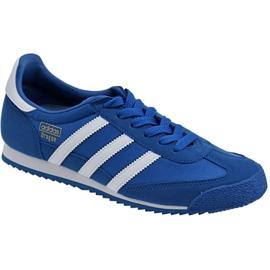 Modrý Obuv Adidas Dragon Og Jr BB2486