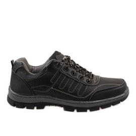 Černá treková obuv FU25