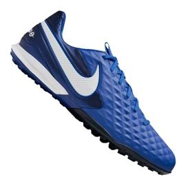 Kopačky Nike Legend 8 Pro Tf M AT6136-414 modrý modrý