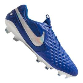 Kopačky Nike Legend 8 Elite Fg M AT5293-414 modrý modrý