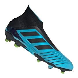 Kopačky adidas Predator 19+ Fg M F35613 modrý modrý
