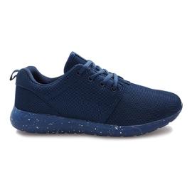 Válečné loďstvo Tmavě modrá sportovní obuv Cosmo