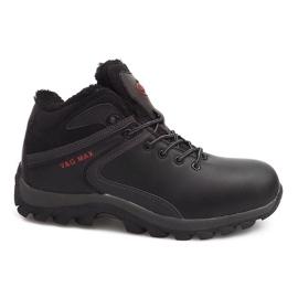 Izolované sněhové boty M2379A-1 Černá