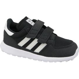 Černá Obuv Adidas Originals Forest Grove Cf Jr B37749