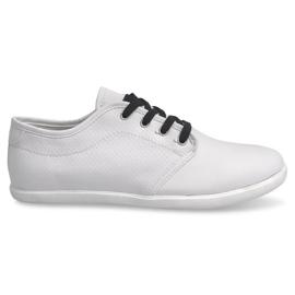 Černá Pánské tenisky 5307 White