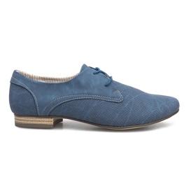 Modrý Modré boty Simone Jazzówki