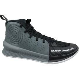 Under Armour Pod Armor Jet M 3022051-001 basketbalové boty černá vícebarevný