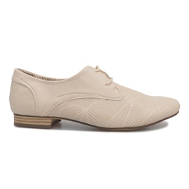 Hnědý Béžové boty Jazz Simone