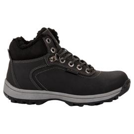 Ax Boxing černá Izolované trekingové boty