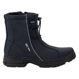 Ax Boxing modrý Navy Blue Snow Boots