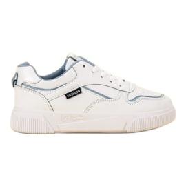 Ax Boxing bílá Bílé sportovní boty