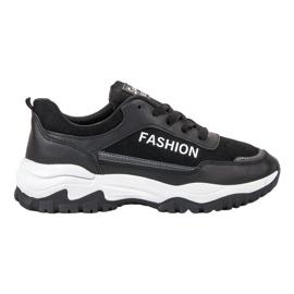 Ax Boxing černá Módní sportovní obuv