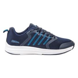 Ax Boxing modrý Lehké sportovní boty
