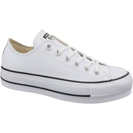 Converse bílá Převod Chuck Taylor All Star Lift Clean Ox W 561680C