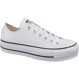 Converse bílá Převod Chuck Taylor All Star Lift Clean Ox W 561680C