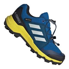 Modrý Obuv Adidas Terrex Gtx Jr BC0599