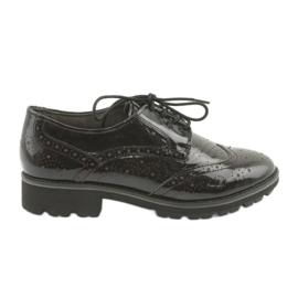 Krajkové boty Oxford Caprice 23701