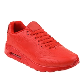 Červená pánská sportovní obuv