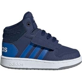 Válečné loďstvo Dětská obuv Adidas Hoops Mid 2.0 EE6714