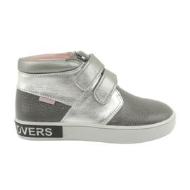 Mazurek FashionLovers šedo-stříbrné boty šedá