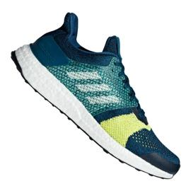 Modrý Obuv Adidas UltraBoost St M B37695