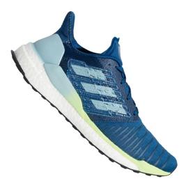 Modrý Boty Adidas Solar Boost M B96286
