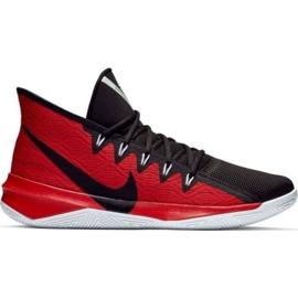 Nike Zoom Evidence Iii M AJ5904 001 boty černé a červené