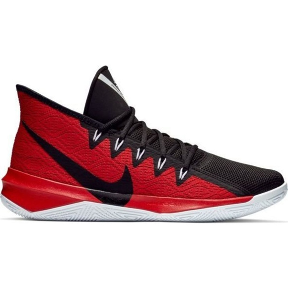 Nike Zoom Evidence Iii M AJ5904 001 boty černé a červené červená černá, červená