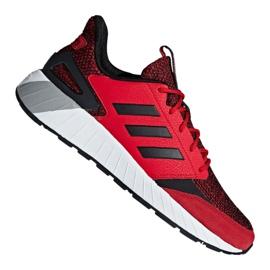 Červená Boty Adidas Questarstrike M G25772