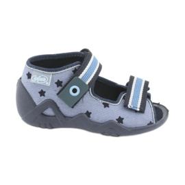 Befado modrá dětská obuv 250P079
